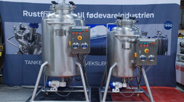 JHStaal Mobil Pressure Tank