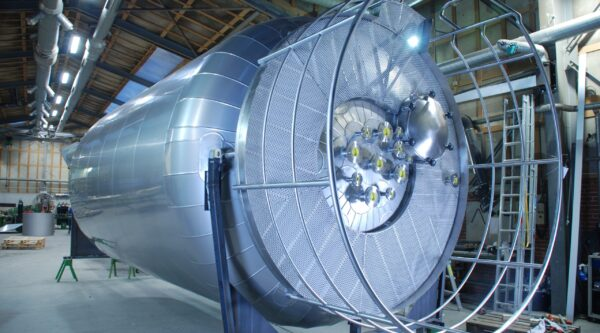 Stainless steel pressure storage tank